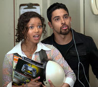 Gugu Mbatha-Raw and Wilmer Valderrama in