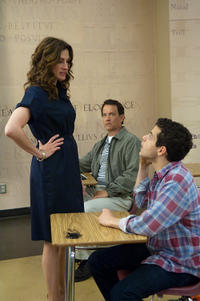 Julia Roberts, Tom Hanks and Rami Malek in