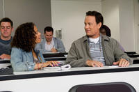 Gugu Mbatha-Raw and Tom Hanks in