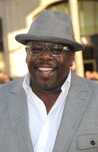 Cedric the Entertainer at the California premiere of