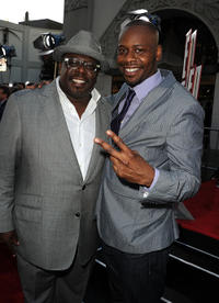 Cedric the Entertainer and Malcolm Barrett at the California premiere of