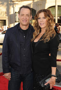 Tom Hanks and Rita Wilson at the California premiere of