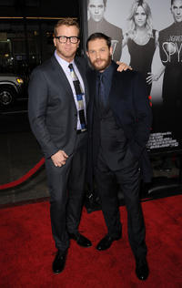 Director McG and Tom Hardy at the California premiere of