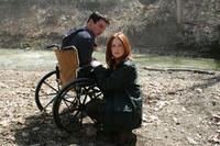 Jonathan Rhys-Meyers and Julianne Moore in