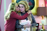 Judith Godreche as Joelle and Catherine Deneuve as Suzanne Pujol in