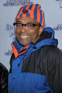 Director Spike Lee at the New York premiere of