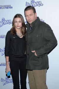 Hailey Baldwin and Stephen Baldwin at the New York premiere of