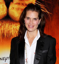 Brooke Shields at the New York premiere of