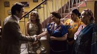 Kuno Becker as Rodriguo, Alexa Vega as Mary, Adriana Barraza as Aunt Aurelia and Catalina Lo as Trinita in
