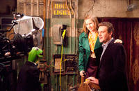 Kermit The Frog, Amy Adams as Mary and Jason Segel as Gary in