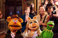 Fozzie Bear, Miss Piggy and Kermit The Frog in