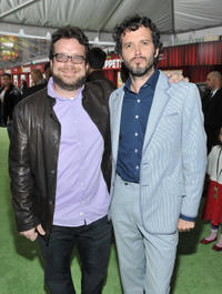 Composer Christophe Beck and Music supervisor Brett McKenzie at the California premiere of