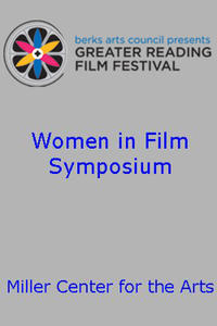 Poster art for Reading Film Festival's Women in Film Symposium