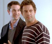 Noah Wyle and Christopher Rydell in