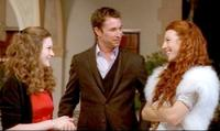 Sabrina Jaglom, Noah Wyle and Tanna Frederick in
