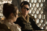 Lena Headey as Lady Catherine de Bourgh in