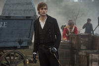 Douglas Booth as Mr. Bingley in