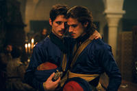 Raphael Personnaz as Duc d'Anjou and Gaspard Ulliel as Henri de Guise in