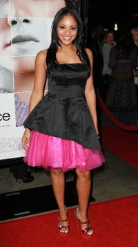 Erica Hubbard at the California premiere of