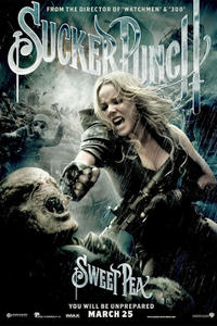 Character poster art featuring Abbie Cornish for