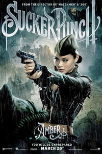 Character poster art featuring Jamie Chung for