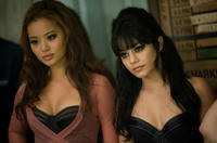 Jamie Chung as Amber and Vanessa Hudgens as Blondie in