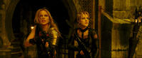 Abbie Cornish as Sweet Pea and Jena Malone as Rocket in