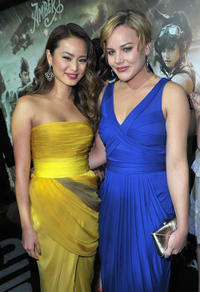 Jamie Chung and Abbie Cornish at the California premiere of