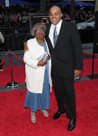 Juanita Foree and Ken Foree at the New York premiere of