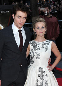 Robert Pattinson and Reese Witherspoon at the New York premiere of