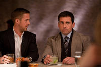 Ryan Gosling as Jacob Palmer and Steve Carell as Cal Weaver in