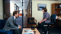 Kevin Bacon as David Lindhagen and Jonah Bobo as Robbie in