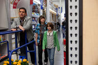 Steve Carell as Cal Weaver, Jonah Bobo as Robbie and Joey King as Molly in