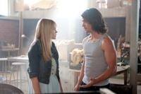 Aimee Teegarden and Thomas McDonell in