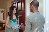 Danielle Campbell and De'Vaughn Nixon in