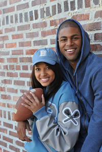 Kylie Bunbury and De'Vaughn Nixon in