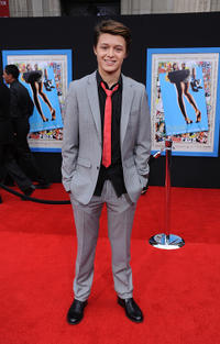 Nolan Sotillo at the California premiere of