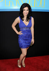 Janelle Ortiz at the California premiere of