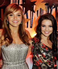 Aimee Teegarden and Danielle Campbell at the California premiere of
