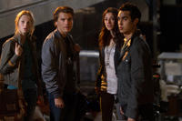 Veronika Ozerova, Emile Hirsch, Olivia Thirlby and Max Minghella in