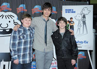 Robert Capron, Devon Bostick and Zachary Gordon at the New York premiere of