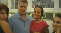 Ray Liotta as Peter Mazzoni and Kerry Washington as Rebecca Mazzoni in