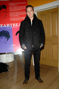 David Call at the New York premiere of