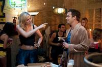 Greta Gerwig as Patrice and Jake Johnson as Eli in