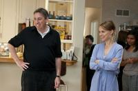 Director/producer Ivan Reitman and Natalie Portman on the set of