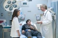 Natalie Portman as Emma, Ashton Kutcher as Adam and Cary Elwes as Dr. Metzner in