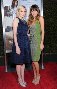 Greta Gerwig and Lake Bell at the California premiere of