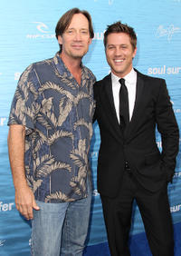 Kevin Sorbo and Ross Thomas at the California premiere of
