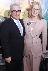 Director Martin Scorsese and Helen Scorsese at the New York premiere of