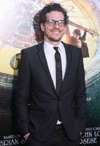 Book Author Brian Selznick at the New York premiere of